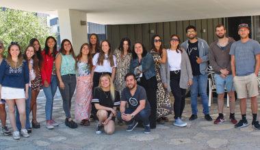 Estudiantes de Periodismo se preparan para su año de especialización en Santiago