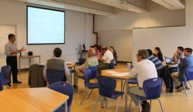 Docentes del campus de Viña del Mar participan de Taller de Aprendizaje